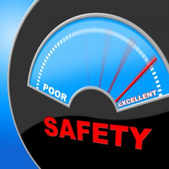 Free Stock Photo of Excellent Safety Indicates Quality Excellency And Careful