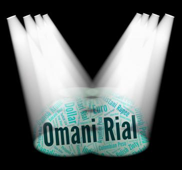 Free Stock Photo of Omani Rial Means Foreign Exchange And Currency