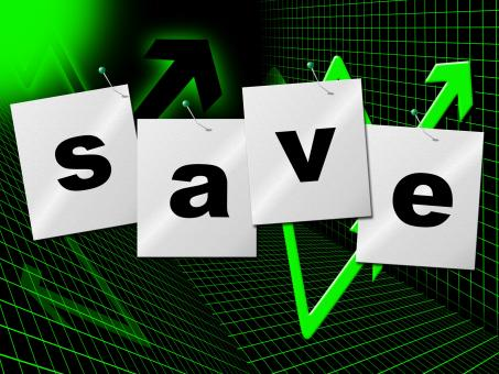 Free Stock Photo of Savings Save Indicates Cash Wealth And Money