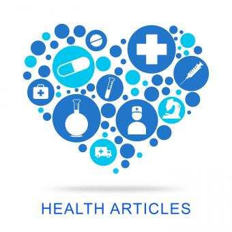 Free Stock Photo of Health Articles Shows Publication Well And Care