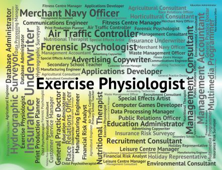 Free Stock Photo of Exercise Physiologist Indicates Job Expert And Work