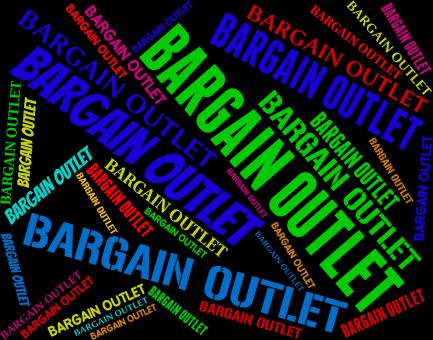 Free Stock Photo of Bargain Outlet Represents Market Discount And Discounts