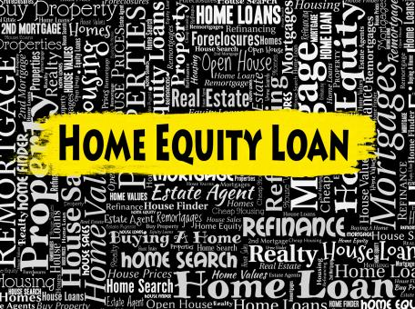 Free Stock Photo of Home Equity Loan Means Property Borrows And Capital