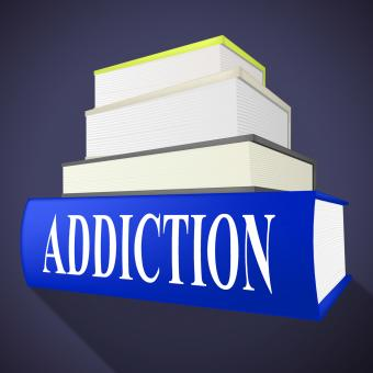 Free Stock Photo of Addiction Book Means Craving Fiction And Books