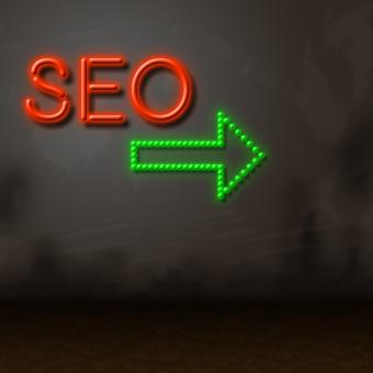 Free Stock Photo of Seo Neon Represents Glow Search And Engine