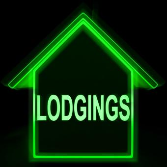 Free Stock Photo of Lodgings Home Means Rooms Accommodation Or Vacancies