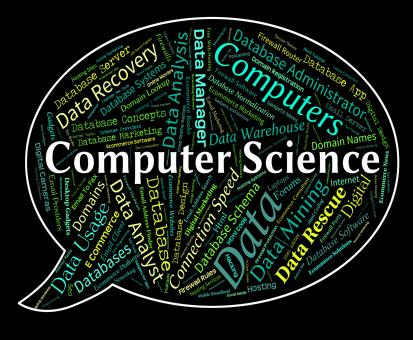 Free Stock Photo of Computer Science Represents Information Technology And Chemist