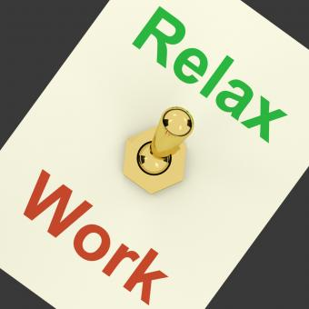 Free Stock Photo of Relax Switch On Showing Relaxing And Recreation