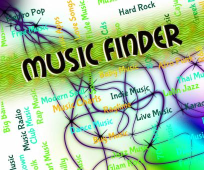 Free Stock Photo of Music Finder Means Sound Track And Audio