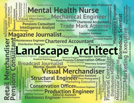 Free Stock Photo of Landscape Architect Means Vista Designer And Natural