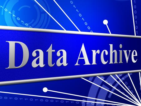 Free Stock Photo of Data Archive Means File Transfer And Archives