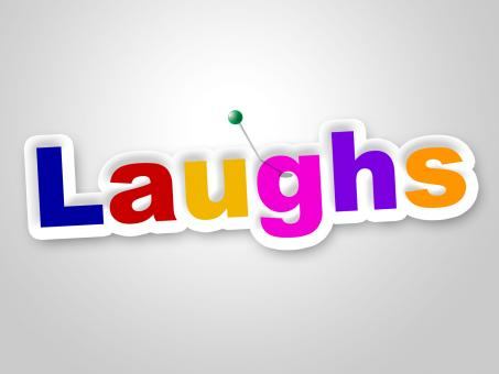 Free Stock Photo of Laughs Sign Indicates Laughing Haha And Humour