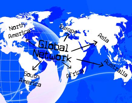 Free Stock Photo of Global Network Indicates Www Communication And Communicate