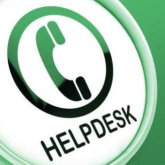 Free Stock Photo of Helpdesk Button Shows Call For Advice