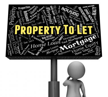 Free Stock Photo of Property To Let Means For Rent And Board