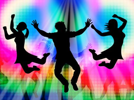 Free Stock Photo of Excitement Jumping Represents Disco Dancing And Activity