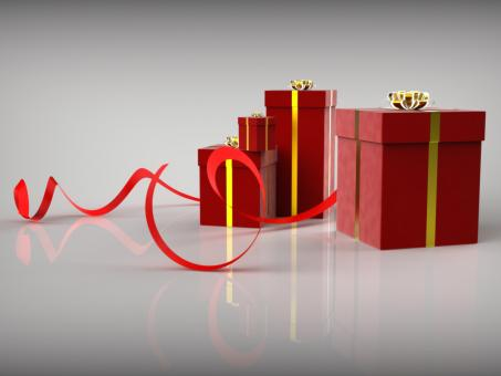 Free Stock Photo of Celebration Giftboxes Shows Gift-Box Greeting And Wrapped