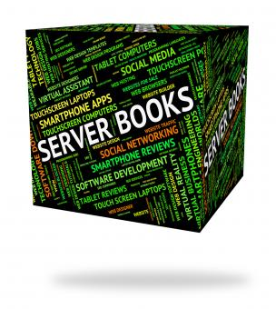 Free Stock Photo of Server Books Indicates Computer Servers And Fiction