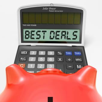 Free Stock Photo of Best Deals Calculator Means Great Buy And Savings
