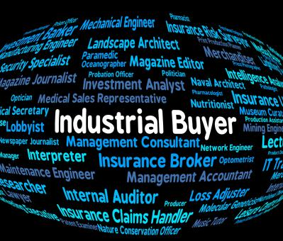 Free Stock Photo of Industrial Buyer Shows Purchasers Employment And Industries