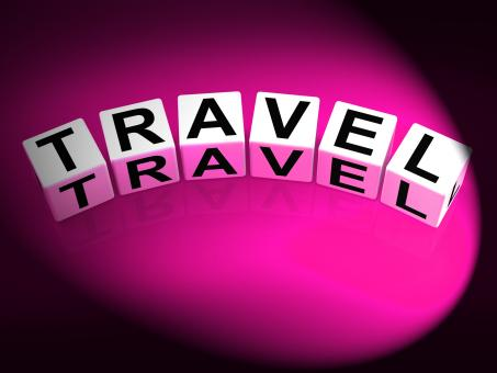 Free Stock Photo of Travel Dice Show Traveling Touring and Trips