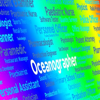 Free Stock Photo of Oceanographer Job Represents Oceanographers Words And Maritime