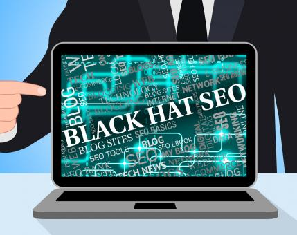 Free Stock Photo of Black Hat Seo Means Search Engines And Aggressive