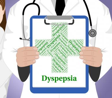Free Stock Photo of Dyspepsia Word Indicates Poor Health And Affliction