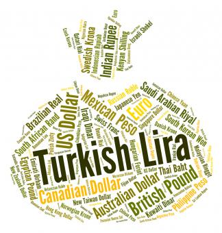 Free Stock Photo of Turkish Lira Represents Foreign Currency And Forex