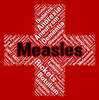 Free Stock Photo of Measles Word Means Kopliks Spots And Ailment