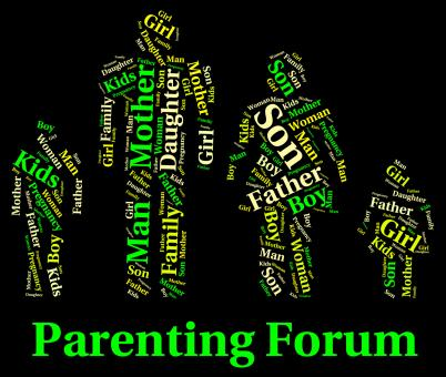 Free Stock Photo of Parenting Forum Means Mother And Baby And Child