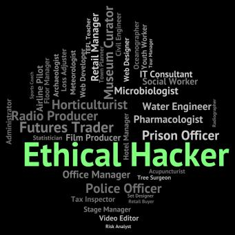 Free Stock Photo of Ethical Hacker Indicates Out Sourcing And Attack