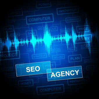 Free Stock Photo of Seo Agency Shows Search Engine And Agent