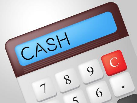 Free Stock Photo of Cash Calculator Means Financial Finances And Revenue