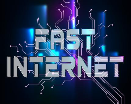 Free Stock Photo of Fast Internet Means High Speed And Accelerated