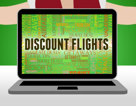 Free Stock Photo of Discount Flights Means Promo Plane And Fly