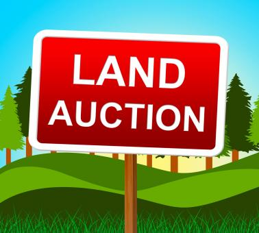 Free Stock Photo of Land Auction Represents Building Plot And Auctioning