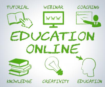 Free Stock Photo of Education Online Means Web Site And Educate