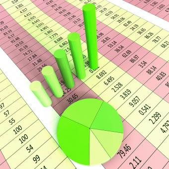 Free Stock Photo of Report Graph Represents Infograph Diagram And Financial
