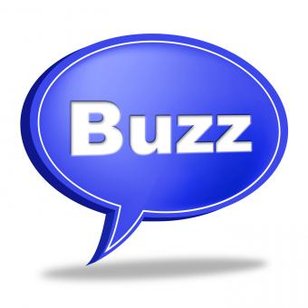 Free Stock Photo of Buzz Message Represents Public Relations And Attention