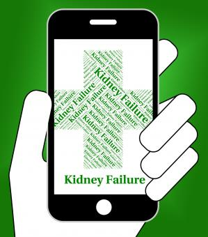 Free Stock Photo of Kidney Failure Indicates Lack Of Success And Affliction