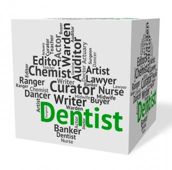 Free Stock Photo of Dentist Job Indicates Dental Surgeons And Career