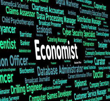 Free Stock Photo of Economist Job Means Macro Economics And Fiscal