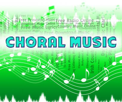 Free Stock Photo of Choral Music Indicates Sound Tracks And Choir