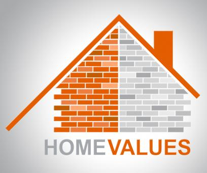 Free Stock Photo of Home Values Represents Selling Price And Building