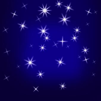 Free Stock Photo of Sparkling Stars Background Means Glittering Galaxy Or Universe