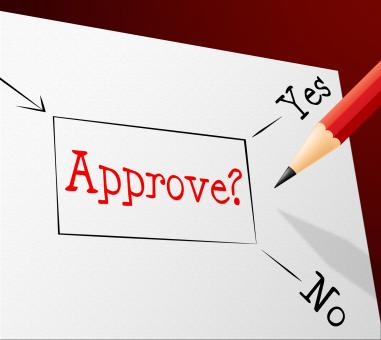 Free Stock Photo of Approve Approval Represents Option Endorsed And Assured