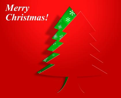 Free Stock Photo of Xmas Tree Represents Congratulation Holiday And Seasonal