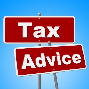 Free Stock Photo of Tax Advice Signs Represents Help Faq And Instructions
