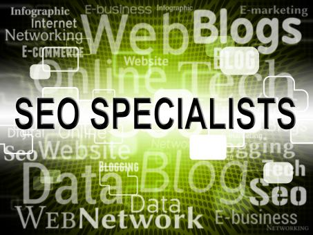 Free Stock Photo of Seo Specialist Represents Search Engine And Expertise